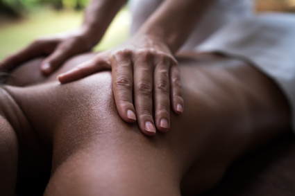 Sports & Therapeutic massage for aching muscles private studio.