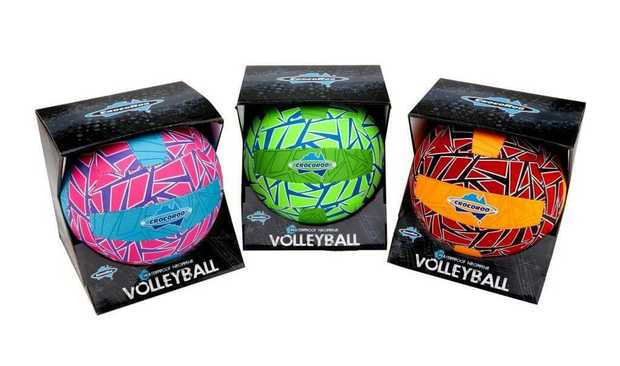 Crocoroo Beach Volleyball Assorted - 1 Only