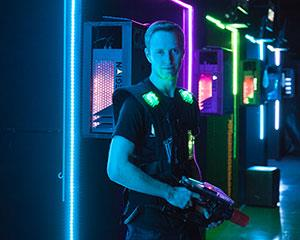 Immerse yourself in the GAMR Laser Tag Experience on the cusp of the Yarra Valley precinct. Our arena...