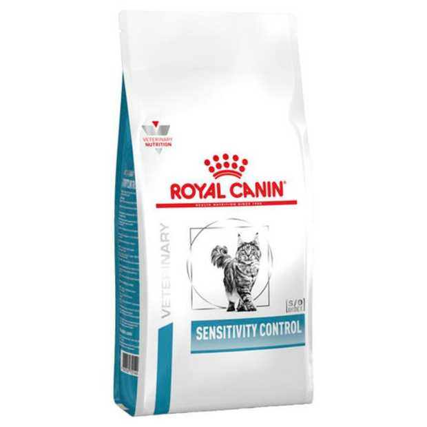 Royal Canin Veterinary Diet Sensitivity Control Cat Food is a highly digestible diet formulated for...