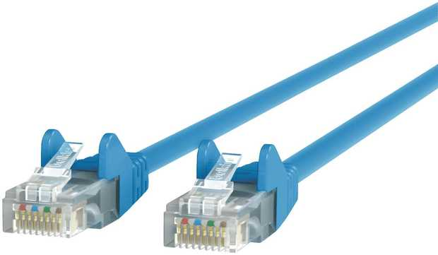 Get stable and clear transmissions on your network with Belkin CAT6 Snagless Patch Cable. Flexible and...