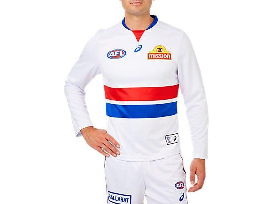 The Replica Home Long Sleeve Clash Guernsey features a lightweight performance polyester with a...