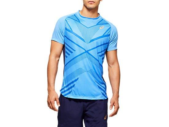 Make an impression on the court in our TENNIS GPX TEE thanks to the Japan pleats inspired jacquard...