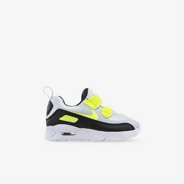 The Nike Air Max Tiny 90 Little Kids' Shoe features the timeless look of the Air Max with updated...