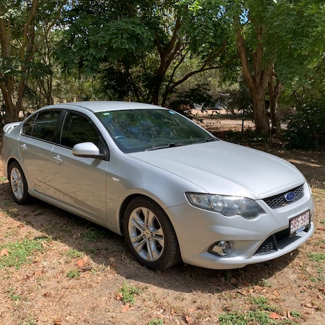 Ford Falcon XR6 2010Silver 5 Speed Auto Aircond Pwr Steer Tow Bar Cruise Control 112,000kms Tint Alloy...