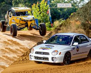 Experience off road at its best in a WRX rally car AND an Off Road V8 Race Buggy! Drive 8 laps in each...