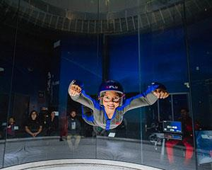 Always wanted to fly? This indoor skydiving package will give you 4 guided indoor flights, full gear...