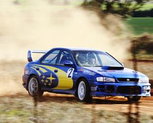 It's time for some serious rally driving fun in a Team Subaru-prepared Turbo Impreza RS. You will get...