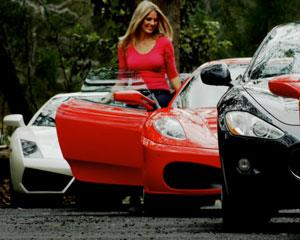 Drive a fleet of Supercars worth more than $2 Million Dollars! INCLUDES PASSENGER SPACE!
