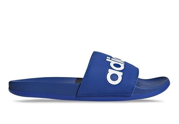 The adidas Adilette Comfort Men's slides rejuvenate tired feet. The lightweight slides have a Cloudfoam...