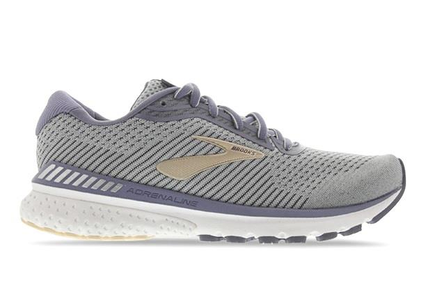 The Adrenlaine GTS 20 has returned with a lighter mostly mesh upper and is still Brook's 'go-to-shoe' .
