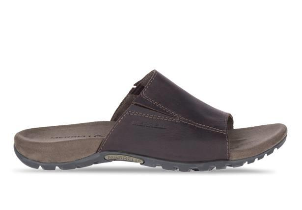 Explore the outdoors endlessly with the Sandpur Slide sandal. Merrell have designed this sandal to...