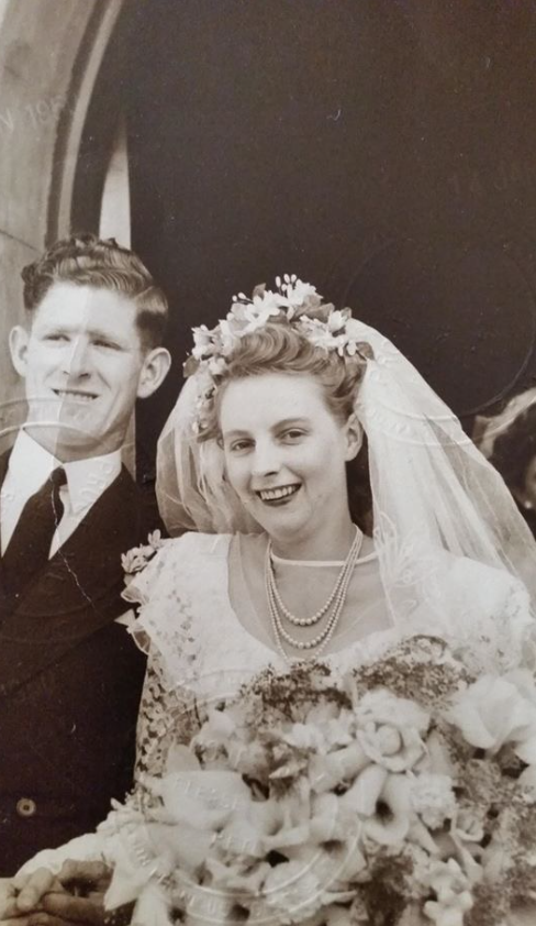 CONGRATULATIONS 70th Wedding Anniversary KOITHAN-JOHNSTON Brenda and Doug    Married in Holy...