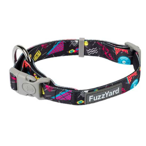 Let your buddy strut out in style with a little splash of fun with the FuzzYard Dog Collar Bel Air...