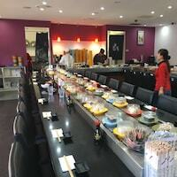 This great condition sushi train will transform your restaurant, and give you the design advantage over...