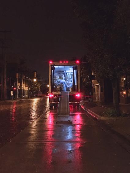 PARKER'S REMOVALS $100 Per Hour for 2 Men. 24/7. Large Trucks.