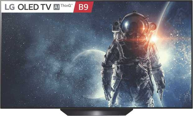 """The breathtaking detail, amazing clarity and exquisite contrast offered by the LG 65"""" B9 4K OLED SMART..."""