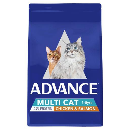 Give your cat improved overall health with every meal when you choose Advance Total Wellbeing Multi Cat...