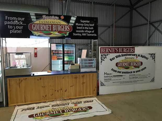 BUSINESS FOR SALE   Bernie's Tasmanian Gourmet Burgers   