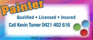 Painter   Qualified * Licensed * Insured.   I do a good job at a fair...