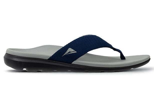 The Ascent Groove Slider is a comfortable orthotic thong, supporting and providing pain relief for sore...