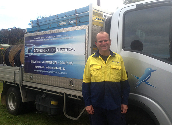 Looking for an electrician in the Central Coast area?     3rd Generation...
