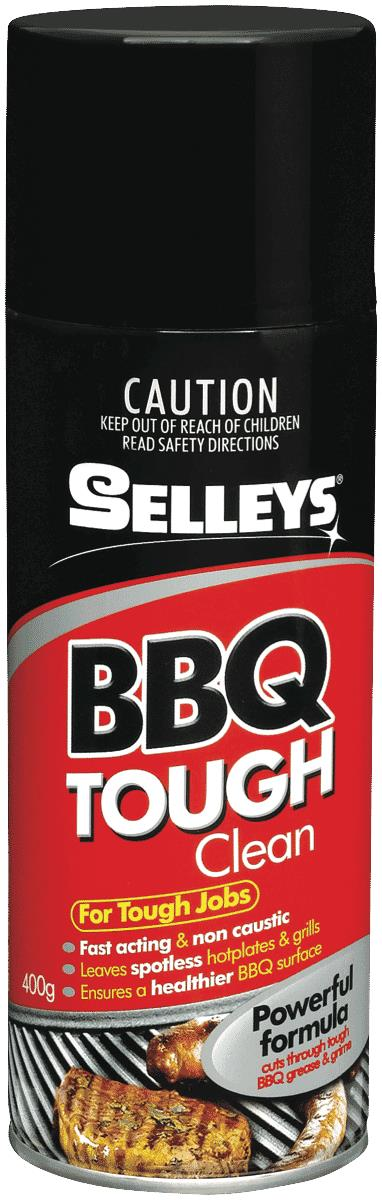 BBQ Tough Clean is a non-caustic aerosol BBQ cleaner which actively removes grease and grime to provide...