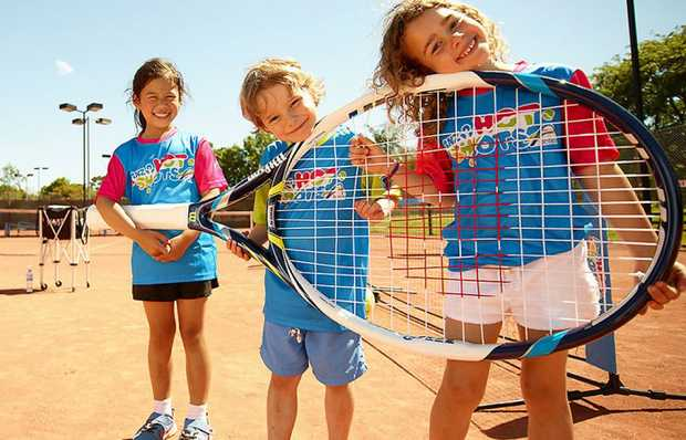 PIONEER TENNIS INC.   3 – 5 YRS TENNIS   LEARN & PLAY TENNIS FOR LITTLE KIDS.   FREE RACQUET...