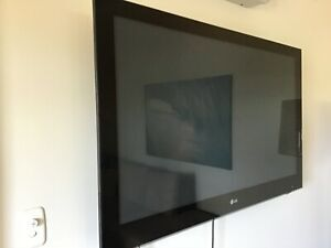 Large 55 inch TV with remote and stand and in good working order.  Great for video gaming and a second...