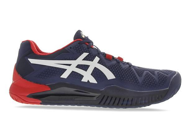 In the Australian open colours the ASICS GEL-Resolution 8 (hardcourt) is designed for comfort and...