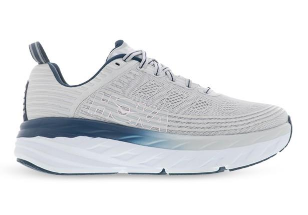 The most comfortable and highly cushioned ride ever, Hoka One One's Bondi 6 is suited to foot types...