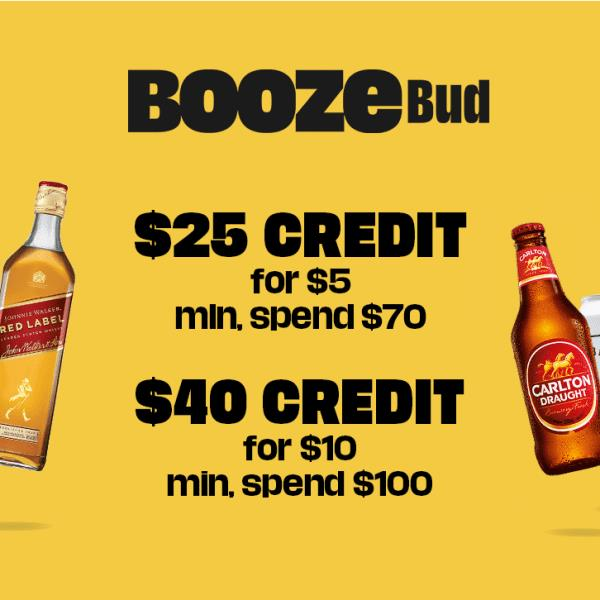 BoozeBud is one of Australia's top online shops for beer, wine and spirits. Enjoy their low prices...