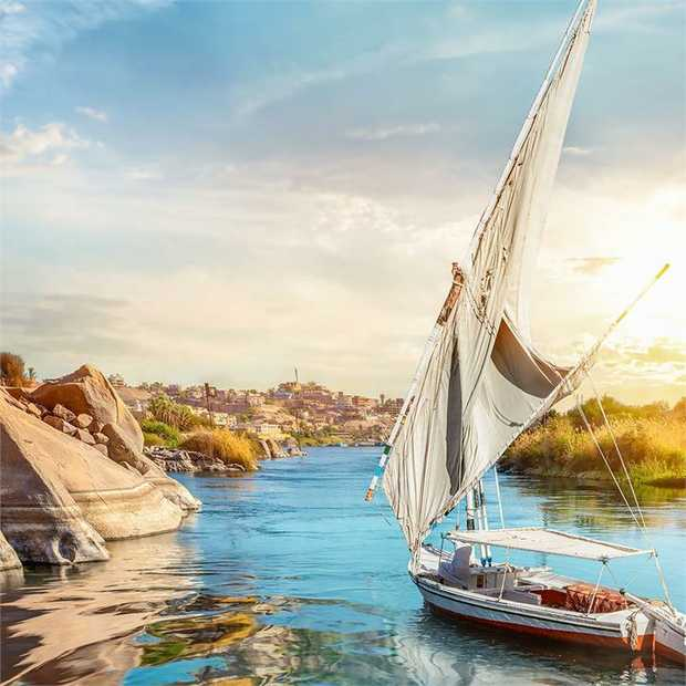 Discover the dazzling historical sights of ancient Egypt on this 8-day Nile River cruise, during which...
