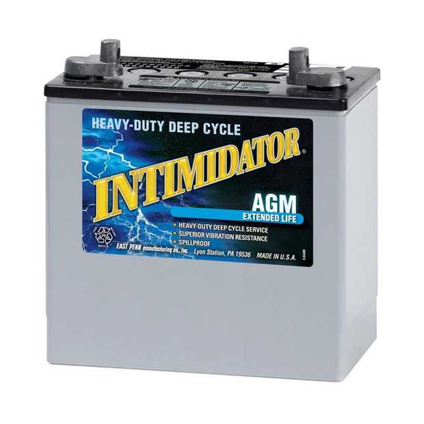 8A22NFM Dual Purpose (DP) Intimidator Marine / RV BatterySpecification: CCA360Ah C2055RC @25min90Weight...