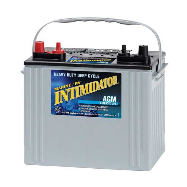 8A24M Dual Purpose (DP) Intimidator Marine / RV BatterySpecification: CCA525Ah C2079RC @25min140Weight...