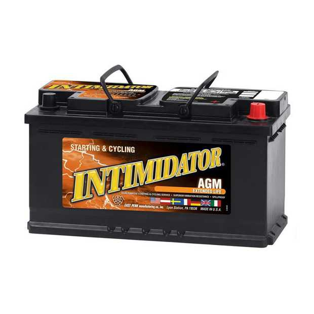 9A49 Deka Intimidator fast charge AGM BatteryNote: DIN90Specification:CCA850Ah C2092RC @25min170Weight...