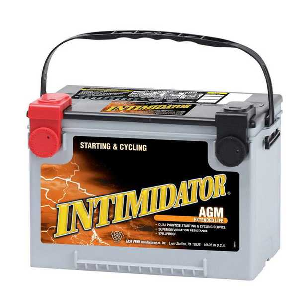 9A78 Deka Intimidator fast charge AGM BatteryNote: Chev/HummerSpecification:CCA775Ah C2055RC...