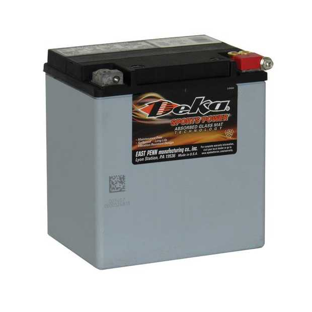 ETX30LA Deka Power Sports AGM BatteryNote: YIX30LSpecification:CCA400Ah C2030RC @25min9.8Weight Kg9.8L...