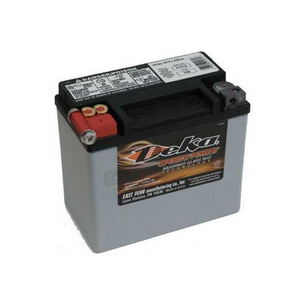ETX9 Deka Power Sports AGM BatteryNote: YTX9-BSSpecification:CCA120Ah C208RC @25min2.9Weight Kg2.9L...