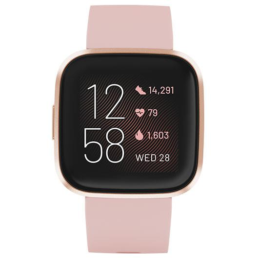 Fitbit Versa 2 Smart Watch - FB507RGPK - Petal/Copper Rose