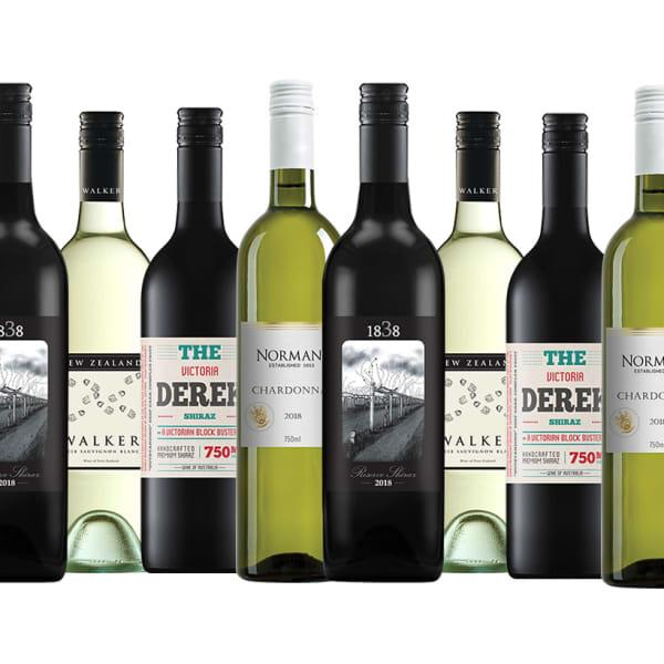 Is your wine collection looking a bit sparse after the season's festivities? Restock with a variety of...