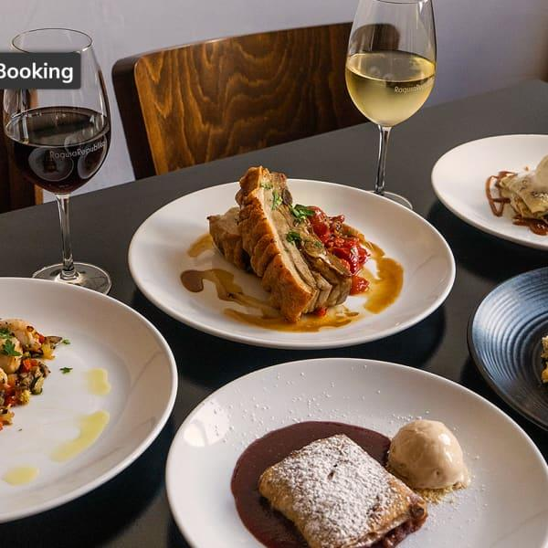 Delight in the taste of the Adriatic when you dine at Ragusa Republika. Choose from a range of...