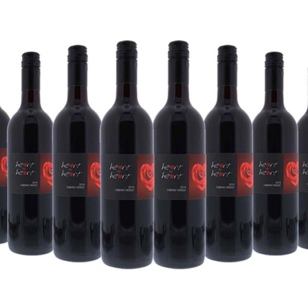 Celebrate summer BBQs with a dozen bottles of Heart to Heart 2016 Margaret River Cabernet Merlot...
