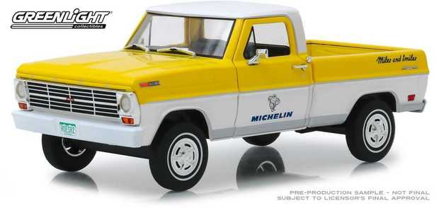 1:24 Michelin Tyres 1968 Ford F-100 Running On Empty