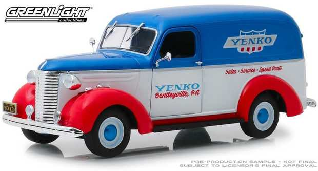 1:24 Yenko Sales And Service 1939 Chev Panel Truck