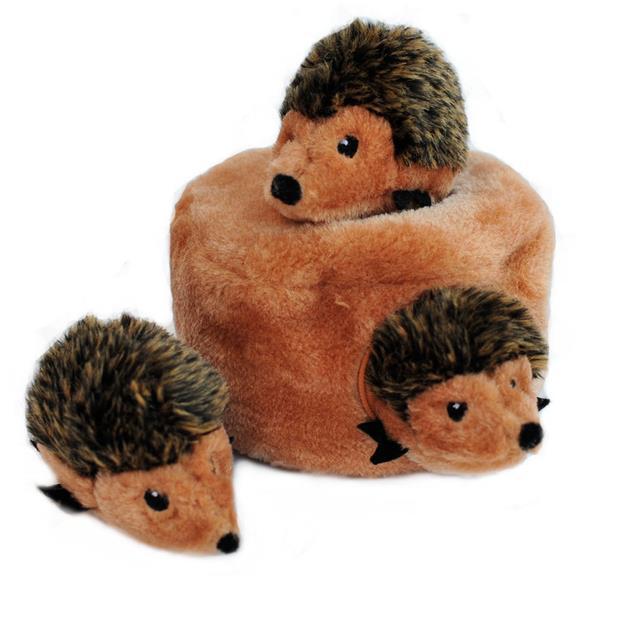 zippypaws zippy burrow hedgehog den soft dog toy  each | ZippyPaws dog toy&accessories | pet supplies|...