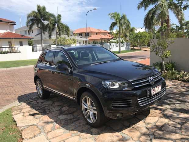 VW Touarag 2015,