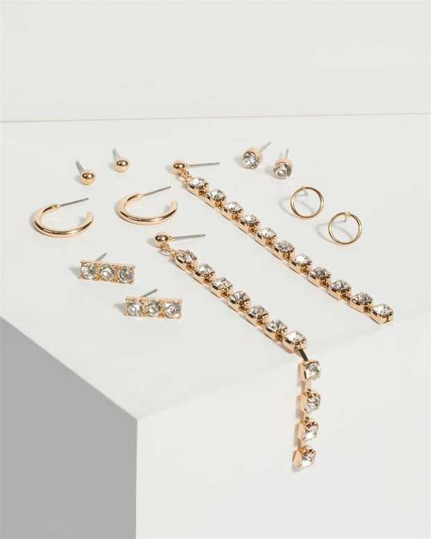 Part of our Mandy collection Make a fashion statement with our gorgeous earrings. This pair of multi...
