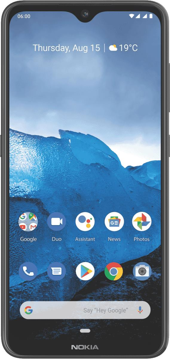 This Nokia mobile phone features an 8 MP front camera and an Android 9 operating system. Store loads of...
