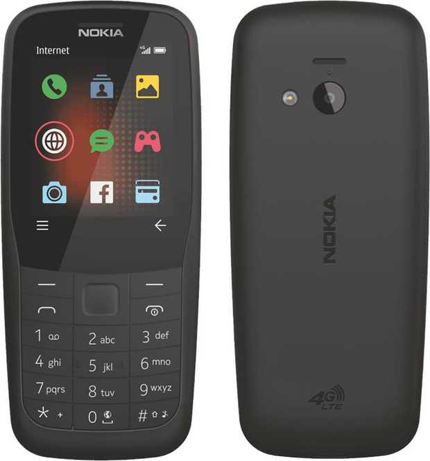 You can access Internet data with great speed with this Nokia mobile phone's 4G network capability. Its...